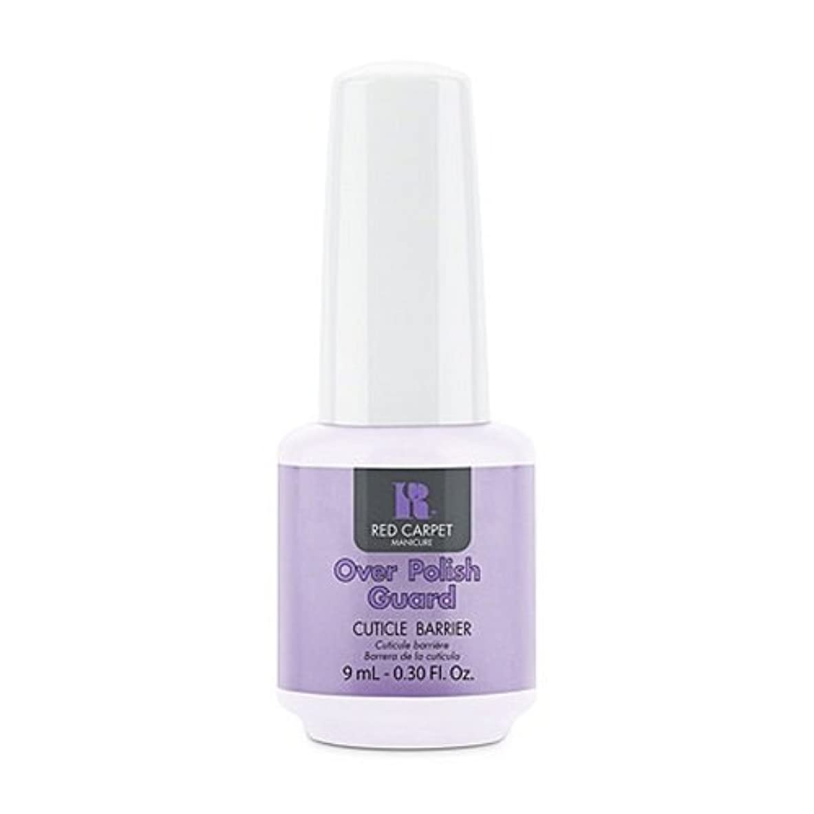 瞬時にフィード講師Red Carpet Manicure - Nail Treatments - Over Polish Guard - 0.3oz / 9ml