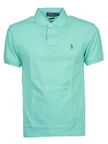 Ralph Lauren Luxury Fashion Herren 710536856175 Grün Baumwolle Poloshirt | Jahreszeit Outlet