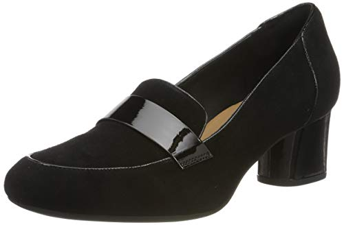 Clarks Damen Un Cosmo Way Pumps, Schwarz (Black/Comb), 41 EU