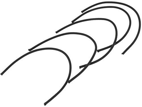 Tuoservo Bungee Shock Cord Scuba Bungee Tauchseil Bungee Tech Tauchzubehör mit hoher Elastizität 5 Stück