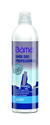 Bama Schuh Deo Professional für Sport-, Ski- und Arbeitsschuhe, Antibakteriell, Transparent, Spray für hygienische Frische im ganzen Schuh, 500 ml