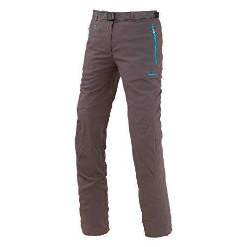 Trangoworld Monia Pantalons Longs, Femme XL Marron (Asphalte)