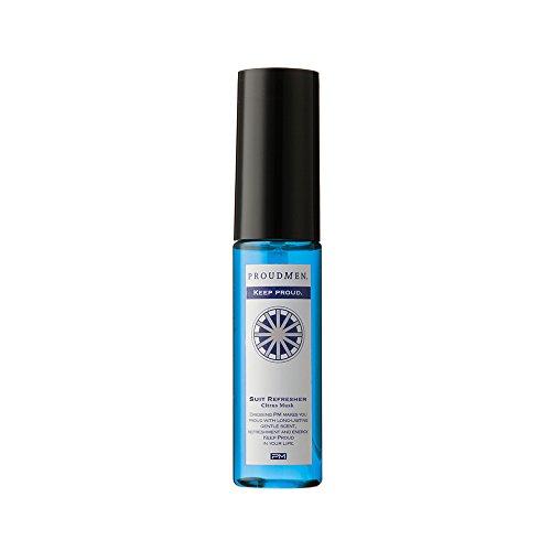 プラウドメン スーツリフレッシャーCM ミニ 携帯用 15ml (シトラスムスクの香り) ファブリックスプレー