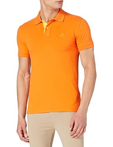 GANT Contrast Collar Pique SS Rugger Camisa de Polo (Pack de 1000) para Hombre