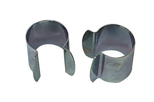 Culture-Serres Lot de 15 Clips de Fixation en métal - D. 25mm
