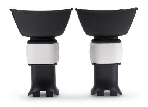 Bugaboo – Adaptateur camaleon pour siège auto Britax-Römer Noir/blanc