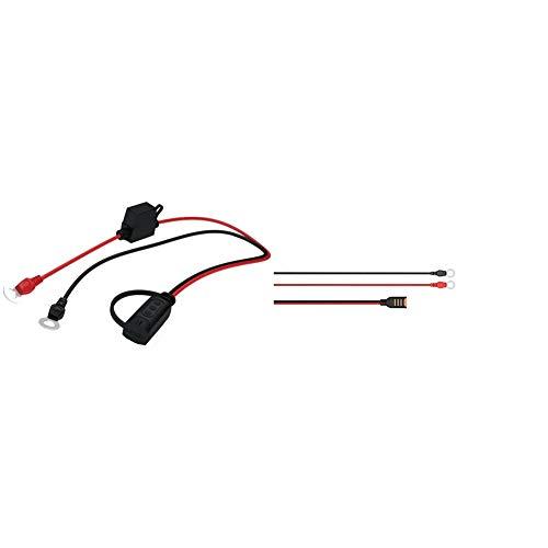 CTEK Indicator Eylet M6: Praktischer Ringösen-Anschluss mit live Anzeige des Batterieladezustands & Comfort Connect Direct Connect Adapter, Ideal Für Schwer Erreichbare Batterien, 40cm Kabellänge