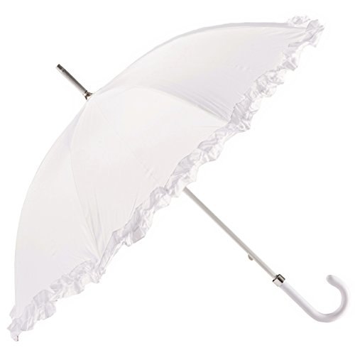 BOLERO - Paraguas de lluvia largo clásico de novia apto para su...