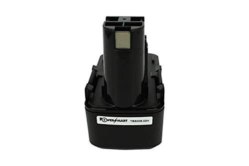 PowerSmart® - Batería para Bosch 2 607 335 031, 2 607 335 032, 2 607 335 033, 2 607 335 073, 2 607 335 153, GDR50, GNS 7.2V, Gus 7.2V, PSR 7.2VES-2, Bosch GBM 7.2, GSR 7.2 Series