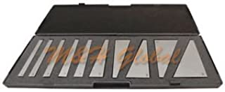 10 PC Angle Block Set 1 Degree Increments to 5 Degree, 5 Degree Increments to 30 Degree