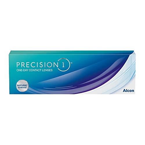 PRECISION1 Ein-Tages-Kontaktlinsen, 30 Stück, BC 8.3 mm / DIA 14.2 mm / -3.75 Dioptrien