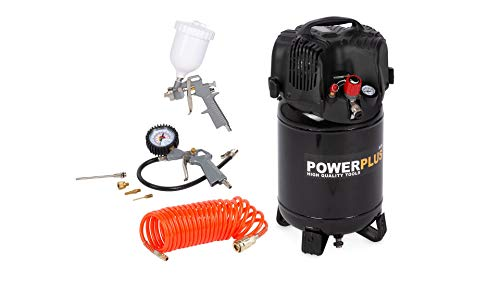 Powerplus Druckluft Powerplus Kompressor 24 L 8...