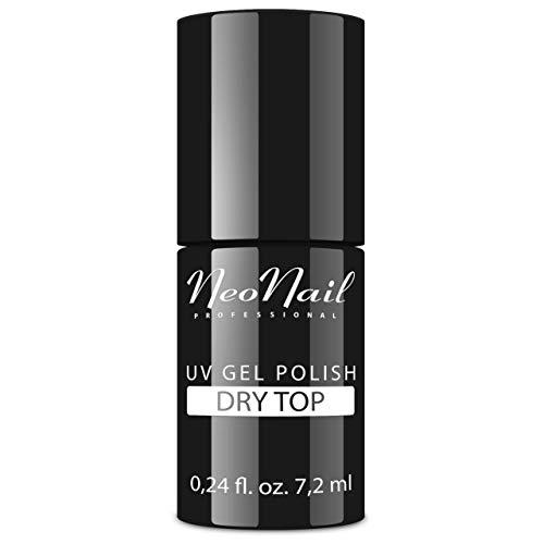 NeoNail UV Nagellack 7,2 ml - Top Dry (für Hochglanz) - UV Lack Gel Polish Soak off Nagellack UV Gel LED Polish Lack Shellac