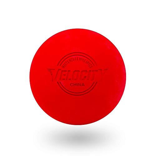 Velocity Lacrosse Balls: 6 Balls - Red