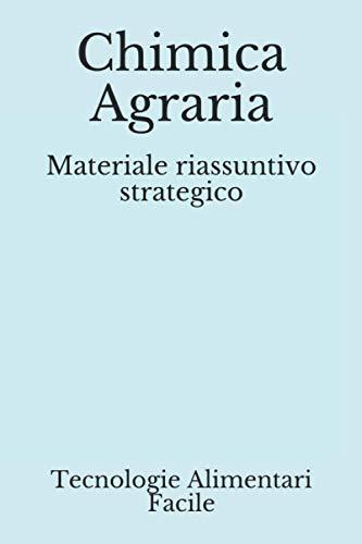 Chimica Agraria: Materiale riassuntivo strategico (SAFA)
