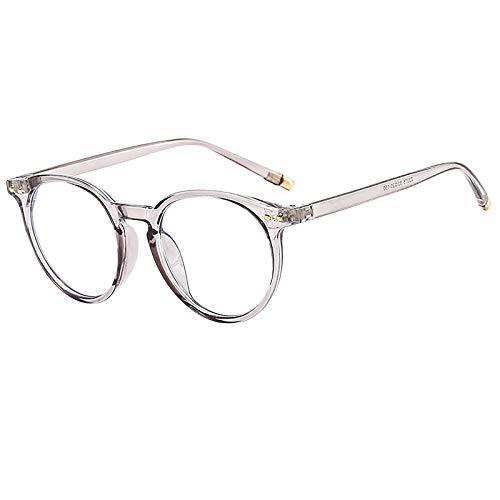 Materly BlaulichtfiltergläSer Computerbrillen Ohne VergrößErung ErmüDungsschutz Blaulicht Pc Brille Blaulichtfilter Retro-MetallrahmengläSer