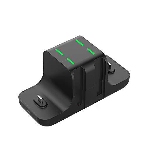 Ewin switch 充電スタンド Switchと4つJoy-Con同時充電 6in1スイッチ用充電スタンド Proコン対応 取り付け簡単 一体型 充電ホルダー Switch充電器 日本語説明書付き