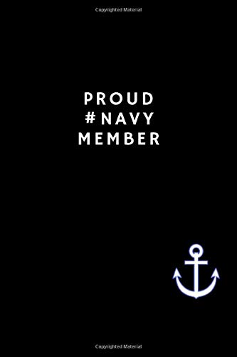 Proud #NAVY Member: Rihanna inspired 6x9 Blank Lined journal.
