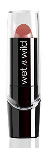 Wet n Wild – Silk Finish Lipstick- Pflegender Lippenstift mit Aloe Vera und Vitamine A und E, Dark Pink Frost, 1 Stk. 3,6g