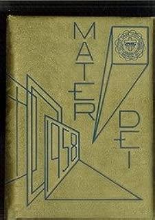 (Custom Reprint) Yearbook: 1958 Notre Dame High School - Mater Dei Yearbook (Batavia, NY)