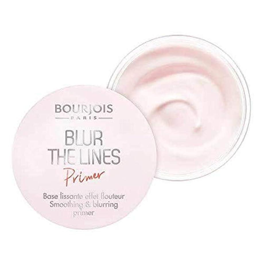 速度受け皿とまり木[Bourjois ] ブルジョワは、ラインのプライマーをぼかします - Bourjois Blur the Lines Primer [並行輸入品]