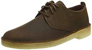 Clarks ORIGINALS Mens Desert London Leather Beeswax Shoes 8 US (B07FQ6NVTF) | Amazon price tracker / tracking, Amazon price history charts, Amazon price watches, Amazon price drop alerts