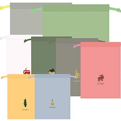 packbeutel Reise,packbeutel Set,wasserdichte Beutel,packsack Tunnelzug,Organizer Beutel,Beutel Rucksack,packbeutel Rucksack,packbeutel für Koffer Kosmetik,Organizer Reisetasche 8 Pack