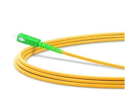 Cable de Fibra Óptica para Router - Latiguillo Monomodo FTTH - 9/125 OS2 - SC/APC-SC/APC Simplex - Compatible 99% Operadores...