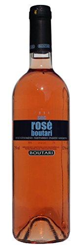 Rosewein Boutari Sec 12,5% aus Griechenland Sommerwein 750ml Flasche Rose griechischer Rosé Wein