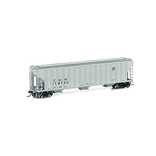 Athearn ATH81975 HO RTR FMC Covered Hopper, UP/C&NW #178733