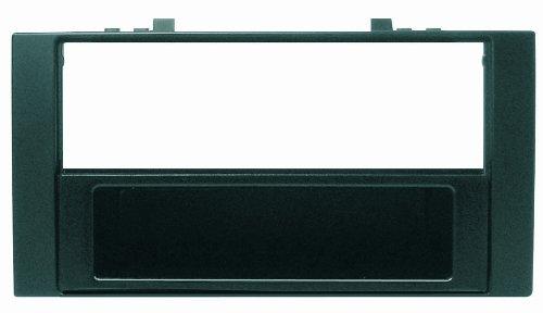 Phonocar 3/376 Cache autoradio ISO/Double DIN pour VW Touareg/Multivan/Trasporter T5 Noir
