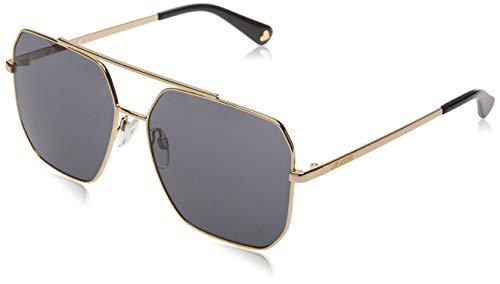 Love Moschino Damen MOL010/S Sonnenbrille, Schwarz (BLACK), 59