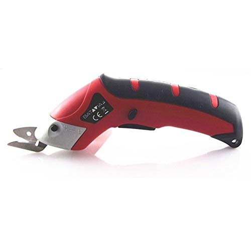 Buy Discount Gpan Electric scissors cutting machine -3.6V lithium battery power scissors For upholstery leather wallpaper