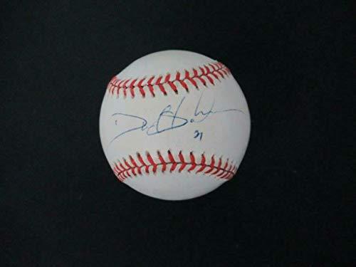 Deion Sanders Signed Baseball Autograph Auto PSA/DNA AH44752 - NFL Autographed Miscellaneous Items