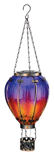 Regal's Hot Air Balloon Solar Lantern LG - Purple