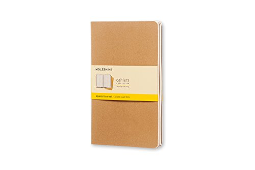 "3-Pack 8-Page Moleskine Cahier 5"" x 8.25"" Journal  $4.70 at Amazon"