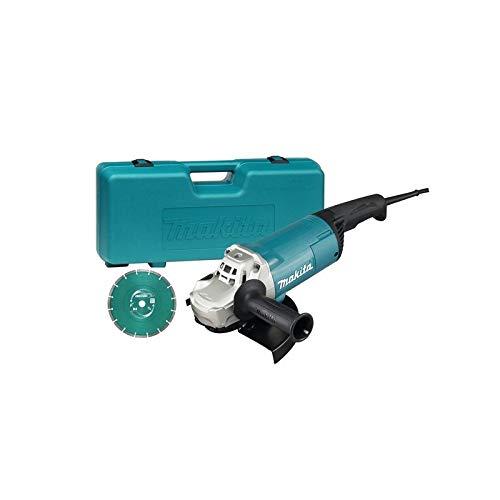 Makita GA9060KD Winkelschleifer 2200 W, 240 V, 230 mm, Blau, Silber