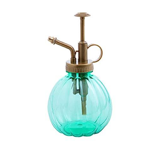 Nicetruc Spray de Estilo Antiguo señor de la Mini Planta de Agua Decorativa Botella con Bomba Top Pequeño Regadera para la Maceta Interior Plantas 1Pc Verde
