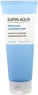 Missha Super Aqua Refrescante Limpiadora Espuma 6,76 Oz/200 Ml [Misc]