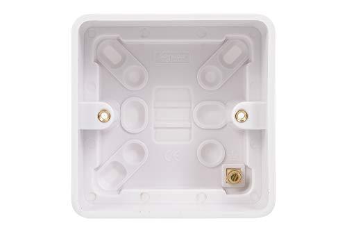 Schneider Electric Lisse 1-fach-Oberflächen-Unterputz, 40 mm
