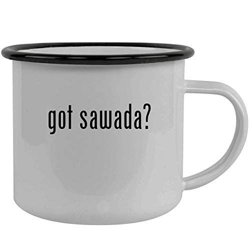 got sawada? - Stainless Steel 12oz Camping Mug, Black