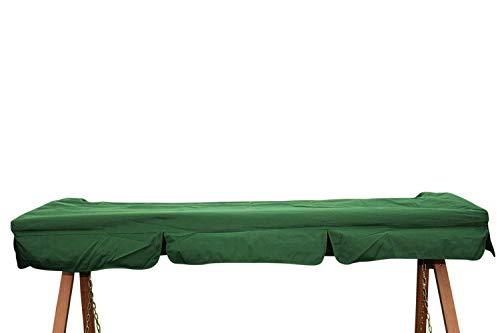 Toldo de repuesto para columpio de jardín de 3 plazas en color verde - IMC459verde