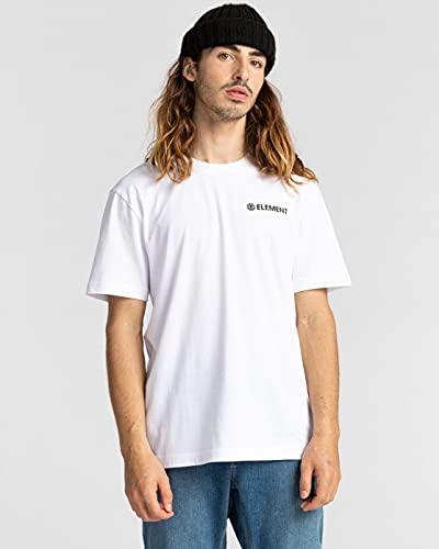 ElementBlazin Chest - Camiseta - Hombre - M - Blanco