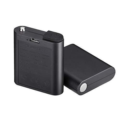 FLOUREON Walkie Talkies 2 Baterías Recargables de Ion de Litio 3AA con Cable de Carga USB 3.7V 1000mAh para Walky Talky 628/638/880/FC200
