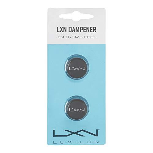 Luxilon WRZ539000 Antivibrazioni LXN Dampener, per Racchetta da Tennis, Grigio, 2 Unità