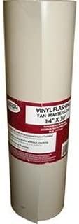Union Corrugating 14-in x 30-ft Vinyl Roll Flashing forDecks, Skylights, Windows, Doors, and Egress Windows
