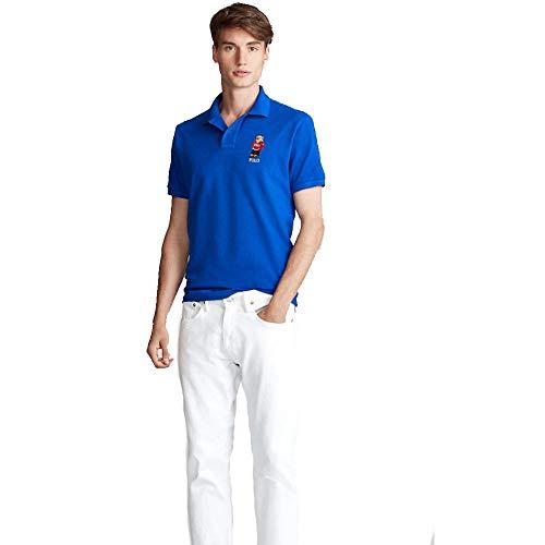 Ralph Lauren Polo Bear Custom Slim Fit (XL, Austin Blue)