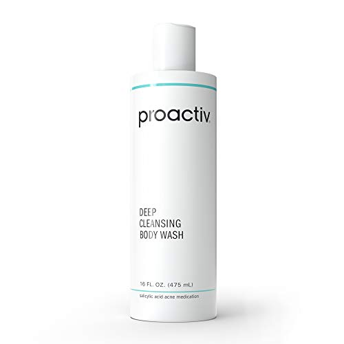 Proactiv Deep Cleansing Acne Body Wash - Medicated Salicylic Acid Cleanser and Exfoliating Body Wash - 90 Day Supply, 16 Oz