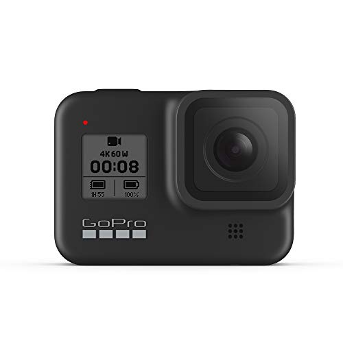 GoPro HERO8 Black - Waterproof Action Camera with Touch Screen 4K Ultra HD Video 12MP...