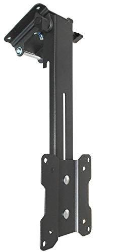 DRALL INSTRUMENTS Deckenhalterung LCD LED TV PC Monitor Deckenhalter Schrägdach Campingwagen LKW platzsparend zusammenklappbar VESA 75 100 Modell: L87